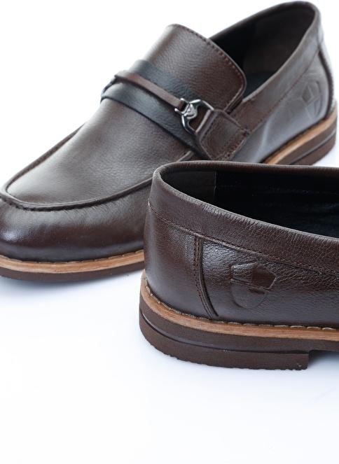 Italian Shoes %100 Deri Casual Ayakkabı Kahve